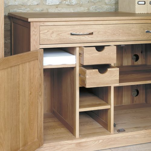 mobel oak hidden home office furniture baumhaus mobel solid oak